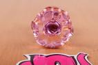 Anální kolík Flower Glass Plug