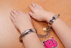Kovová pouta Chained Love – na rukou