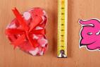Mýdlové konfety Little Hearts – měříme velikost
