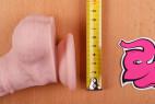 Silicone dildo Maxim – měříme