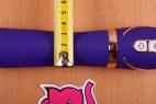Vibrátor Front Row Purple – průměr nejužší části