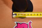Anální dildo Black Stud – průměr přísavky