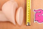 BOOM silikonové dildo Robert Rosenberg – průměr přísavky