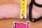 Erekční kroužek Bondage – na větším dildu, průměr 4,2 cm