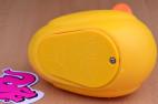 Vibrační kačenka Duckie – detail krytu baterie