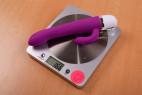 BOOM Delight vibrátor – váha s baterií 166 g