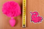 Anální kolík Pinky Bunny – délka