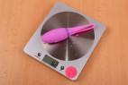 Bezdrátové vibrační vajíčko Hell-X– váha vajíčka (62 g)