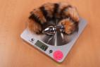 Anální kolík Racoon Tail – váha
