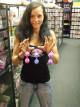 Venušiny kuličky DUOballs fialové