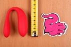 Vibrátor Sweet Smile We-Vibe – měříme výšku