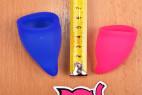Menstruační kalíšky Fun Cup – měříme délku kalíšků