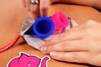 Menstruační kalíšky Fun Cup – v pytlíku