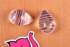 Vajíčka Pure Glass – detail dvou vajíček