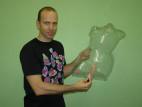Vibrátor LoveClone rovný 17 cm