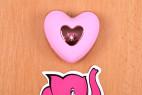 Vibrační vajíčko Pink Love, ovladač na stole
