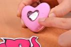 Vibrační vajíčko Pink Love, v ruce