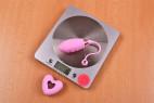 Vibrační vajíčko Pink Love, na váze bez ovladače