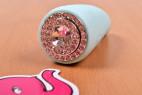 Masažní vibrátor s oušky Turquoise Diamond
