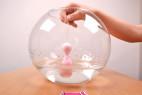 Vibrační vajíčko BOOM Rabbit&Balls, vibrace ve vodě
