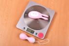 Vibrační vajíčko BOOM Rabbit&Balls, ovladač na váze
