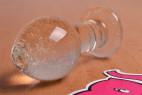 Anální kolík Glow Night – malý kolík, focení v prodejně Růžový Slon Havířov