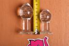 Anální kolík Glow Night – měříme délku velkého a malého kolíku