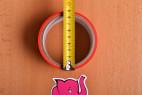 Bondážní páska Rouge – měříme průměr pásky