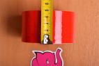 Bondážní páska Rouge – měříme šířku pásky