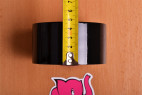 Bondážní páska Noir – měříme šířku pásky