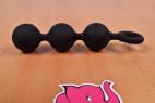 Anální kuličky Black Trio – focení v prodejně Růžový Slon Havířov