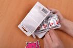 Pepino Safe Plus – vytahování z krabičky