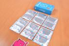 Primeros Soft Glide – kondomy vytažené z krabičky (12 ks)