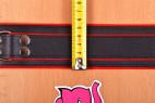 Kožený obojek na krk – měříme šířku obojku