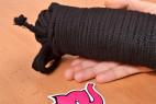 Bondážní lano Soft Touch – detail delšího lana
