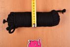 Bondážní lano Soft Touch – měříme šířku delšího lana