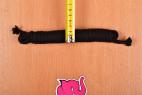 Bondážní lano Soft Touch – měříme šířku kratšího lana
