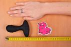 Vibrační anální kolík Pulsing Pleasure – měříme délku kolíku