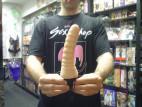 Vibrátor gelový Toy4Fun 21cm