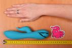 Silikonový vibrátor Tiffany Dream – měříme délku vibrátoru