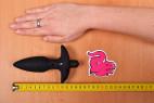 Vibrační anální kolík Stinger – měříme délku delšího kolíku