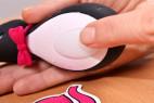 Satisfyer Pro Penguin – fotíme tlačítko na ovládání a zapnutí