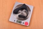 Anální kolík Dark Fantasy – vážíme kolík, stolní váha ukazuje 101 g