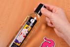 Shunga Serenity – otevírání lahvičky