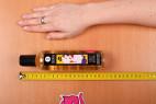 Shunga Asian Fusion – měříme délku lahvičky