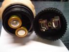 Vibrátor gelový Toy4Fun 23*4 cm