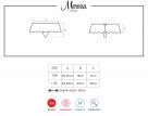 Obsessive kalhotky Merossa s volným klínem, rozměry