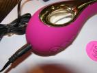 LELO Isla vibrátor, fialový, nabíjení