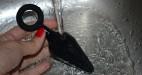 Anální kolík Soft Feel s očkem, pod tekoucí vodou