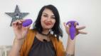 Vibrační anální kolík s ovladačem Orchid Zen, Karin